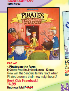 Pirates at Scholastic